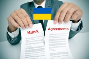 Ukraine destroys the Minsk agreements