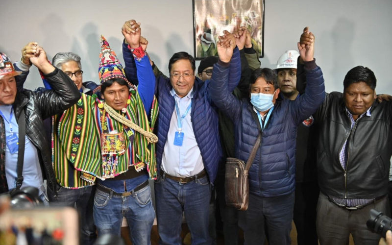 Victory of Evo Morales former minister in Bolivia