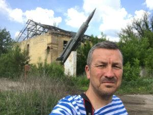 Dean O'Brien in the Donbass